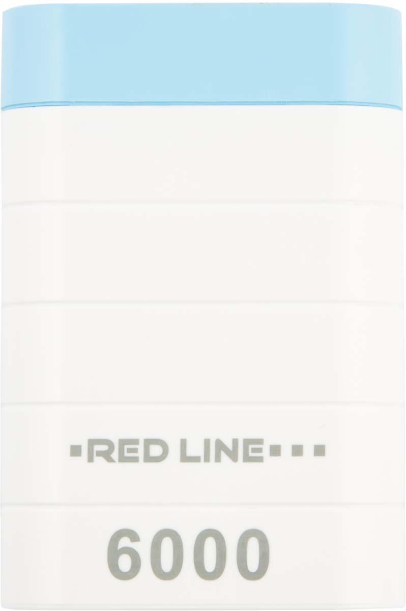 Red Line S7000, White внешний аккумулятор (6 000 mAh)