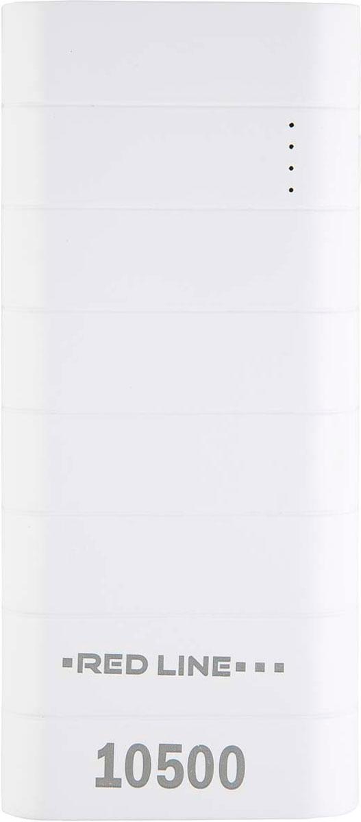 Red Line V9, White внешний аккумулятор (10 500 mAh)