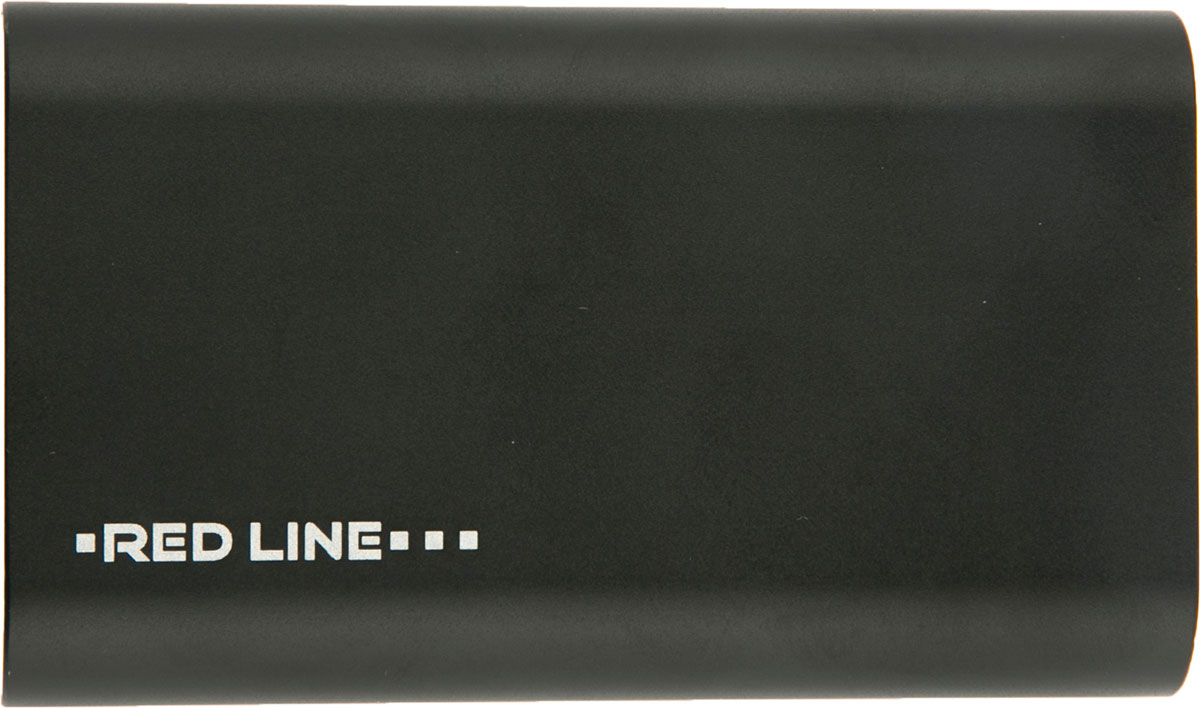 Red Line H14, Black внешний аккумулятор (6 000 mAh) 110db loud security alarm siren horn speaker buzzer black red dc 6 16v