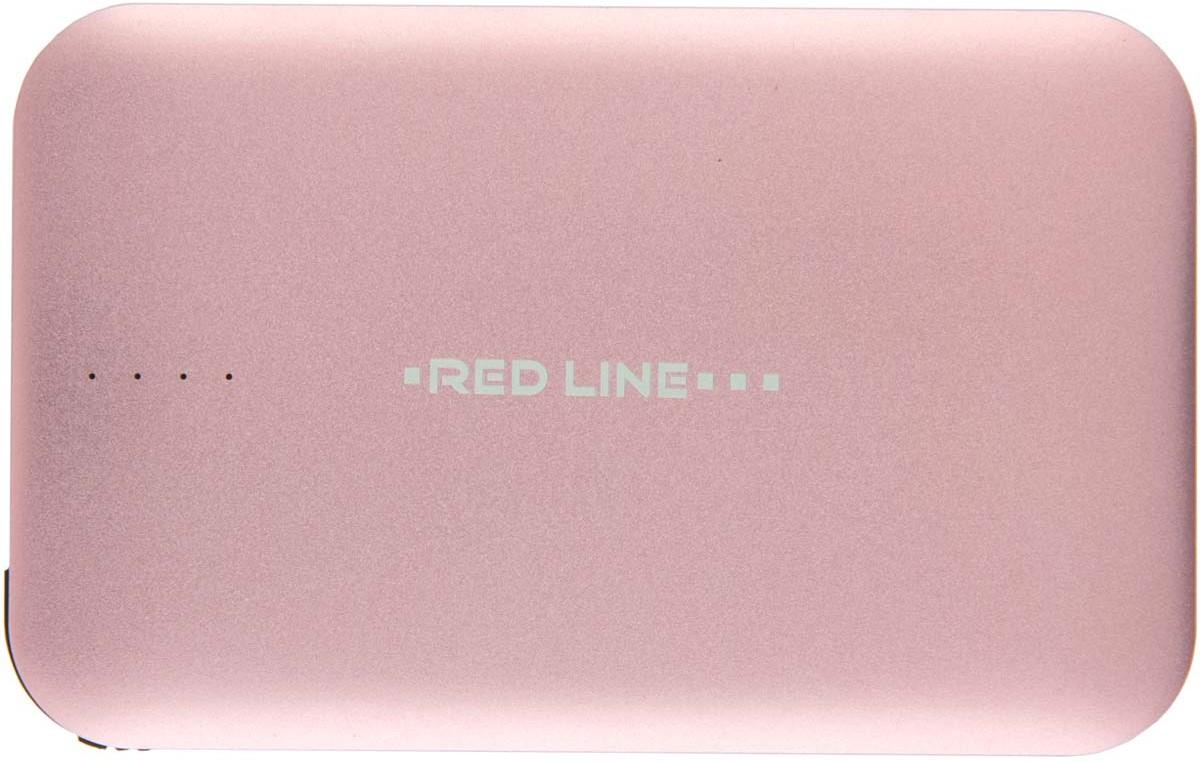 Red Line B6000, Pink Gold внешний аккумулятор (6 000 mAh)