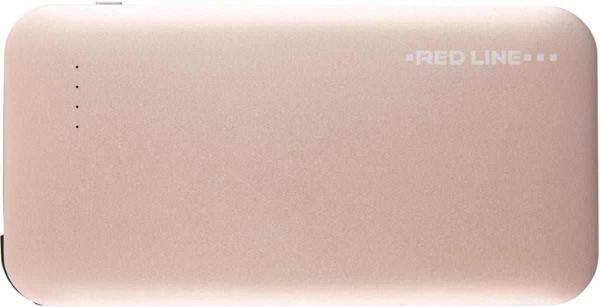 Red Line B8000, Gold внешний аккумулятор (8 000 mAh)