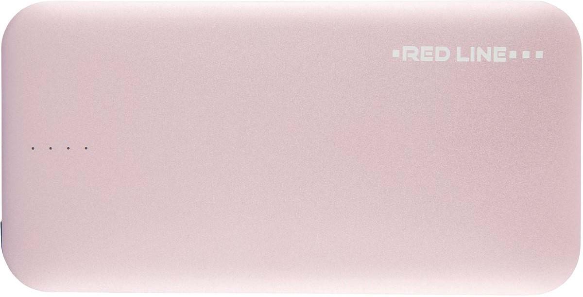 Red Line B8000, Pink Gold внешний аккумулятор (8 000 mAh) угол желоба внешний grand line 125 90° красное вино металлический