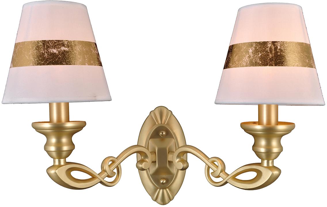 Бра Natali Kovaltseva, 2 х E14, 40W. 75004/2W GOLD75004/2W GOLDКлассический стиль зародился еще в античные времена. Классика вне времени. Такие люстры пользуются особой популярностью среди ценителей изысканности и роскоши. Светильники в стиле классика самый любимый декоративный элемент мировых интерьер-дизайнеров.Светильники данной серии от Natali Kovaltseva имеют очень практичный и функциональный дизайн, отличное качество и простота в эксплуатации. Срок службы этих светильников превышает десятилетие. Размеры: L25 x W46 x H34 cm