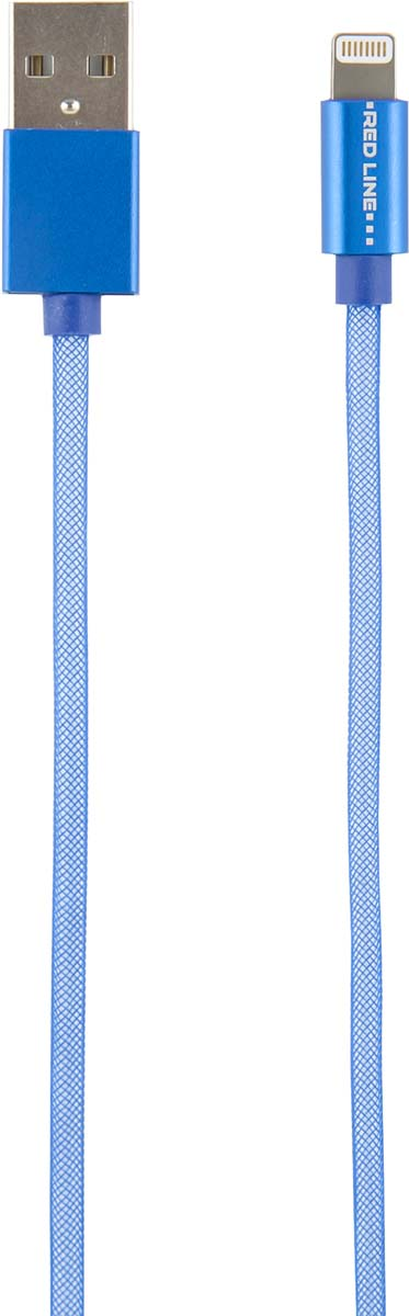 Red Line fishnet, Blue кабель MFI USB-Lightning (1 м) кабель maverick lightning 1 м белый