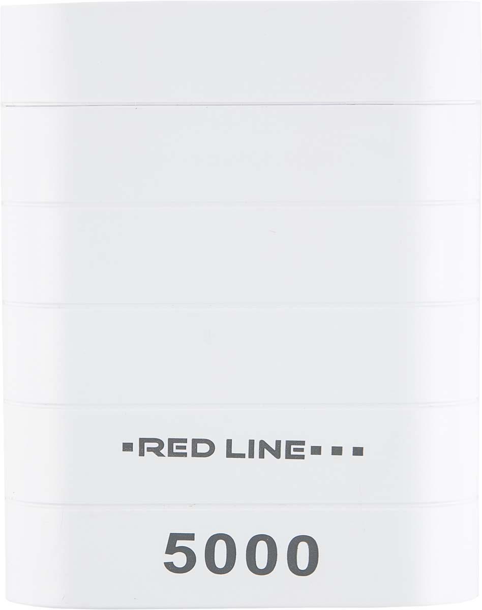 Red Line S5000, White внешний аккумулятор (5 000 mAh)УТ000013534