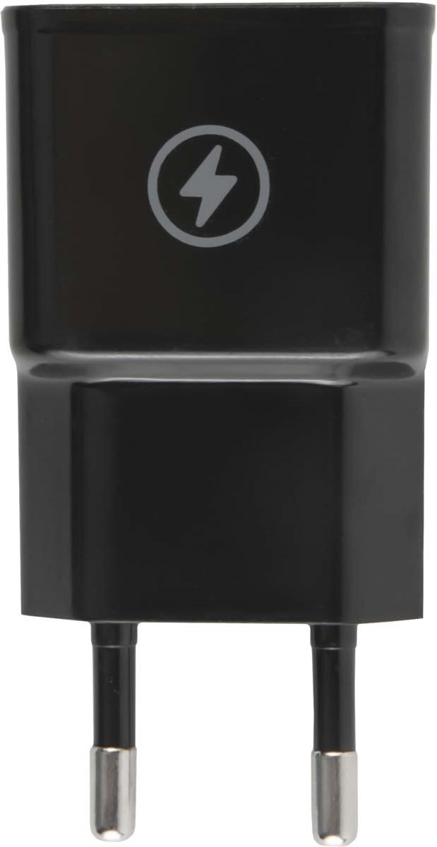 Red Line NT-1A, Black сетевое зарядное устройство + кабель micro USB