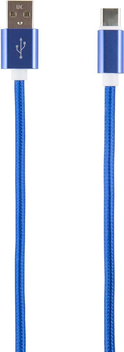 Red Line УТ000014159, Blue кабель USB-Type-C (2 м) кабель red line usb – usb type c 1m violet