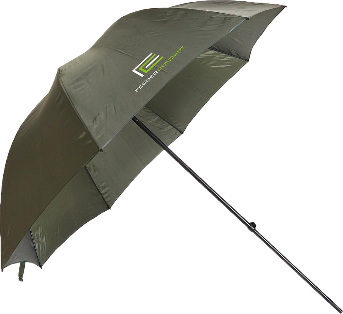 Зонт рыболовный Feeder Concept LancasterFC-10903Большой рыболовный зонт. Регулируемый угол наклона зонта. Стальной каркас с покрытием. Наружный размер 220х190 см, транспортный размер 120х8х8см. Вес 2 кг.