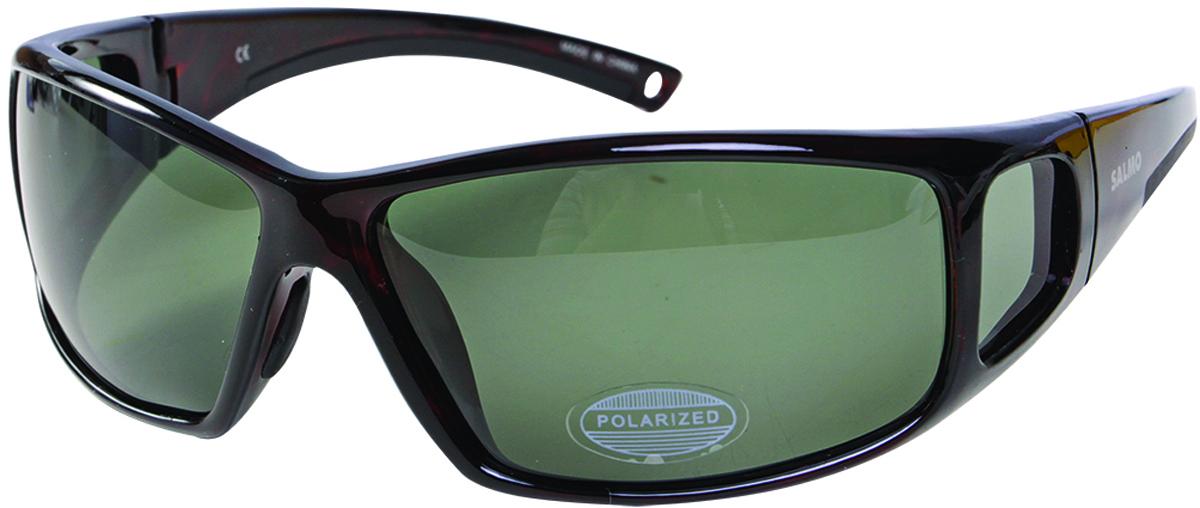 Очки поляризационные Salmo, цвет: темно-коричневый. S-2512 поляризационные очки guideline viewfinder copper