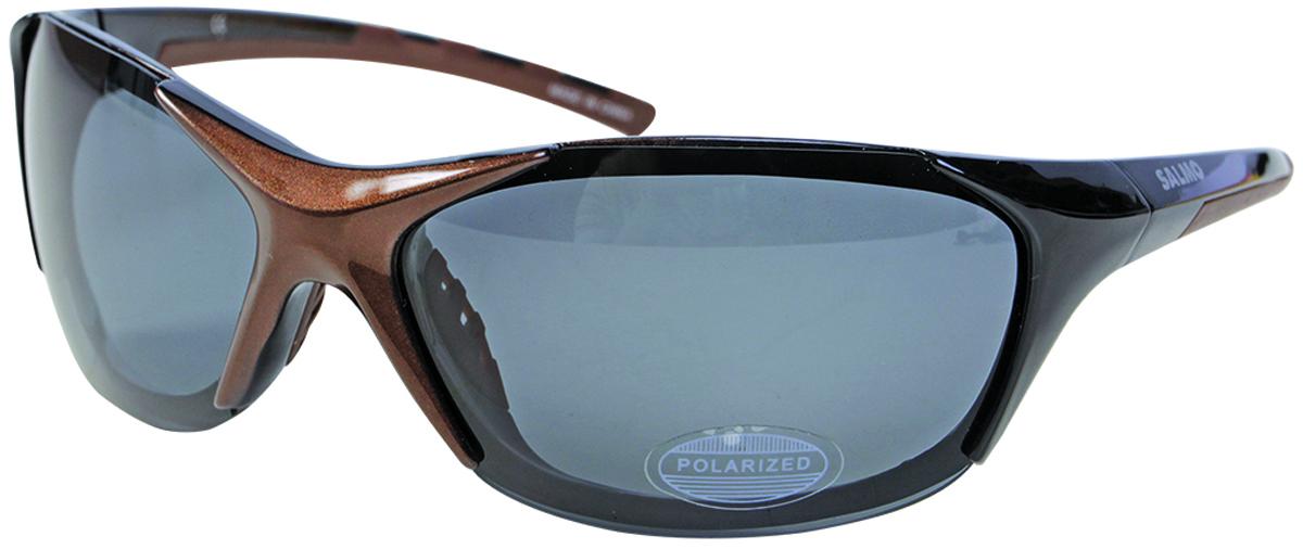 Очки поляризационные Salmo, цвет: светло-коричневый. S-2514S-2514Поляризационные очки предохраняют глаза рыболова от инфракрасного излучения солнца.Они снижают солнечные блики от воды, во время рыбалки. Эти очки позволяют рыболовусмотреть «сквозь воду» и ловить рыбу целый день против солнца.• Мягкий защитный чехол.• Ярлык-тестер, для проверки качества поляризации.