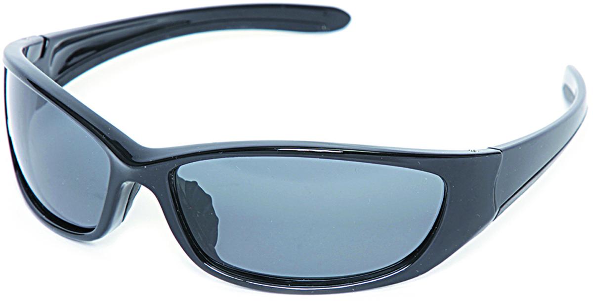 Очки поляризационные Salmo, цвет: черный. S-2515S-2515Поляризационные очки предохраняют глаза рыболова от инфракрасного излучения солнца.Они снижают солнечные блики от воды, во время рыбалки. Эти очки позволяют рыболову смотреть «сквозь воду» и ловить рыбу целый день против солнца.• Ярлык-тестер, для проверки качества поляризации.• Цвет стекол: серые.