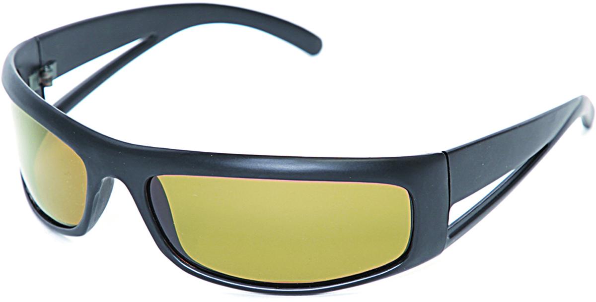 Очки поляризационные Salmo, цвет: черный. S-2520S-2520Поляризационные очки предохраняют глаза рыболова от инфракрасного излучения солнца.Они снижают солнечные блики от воды, во время рыбалки. Эти очки позволяют рыболову смотреть «сквозь воду» и ловить рыбу целый день против солнца.• Ярлык-тестер, для проверки качества поляризации.• Цвет стекол: желтые.
