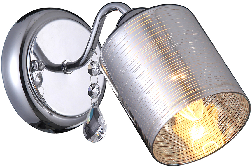 Бра Natali Kovaltseva, 1 х E14, 40W. 75035-1W CHROME75035-1W CHROMEКлассический стиль зародился еще в античные времена. Классика вне времени. Такие люстры пользуются особой популярностью среди ценителей изысканности и роскоши. Светильники в стиле классика самый любимый декоративный элемент мировых интерьер-дизайнеров.Светильники данной серии от Natali Kovaltseva имеют очень практичный и функциональный дизайн, отличное качество и простота в эксплуатации. Срок службы этих светильников превышает десятилетие. Размеры: L24 x W12 x H16 cm