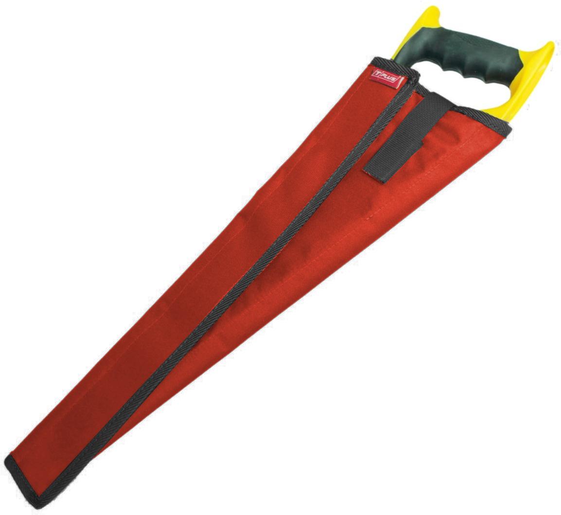 Чехол для ножовки Tplus, оксфорд 600, цвет: красный, 35 см южная скандинавия карта автодорог карта проезда через копенгаген осло стокгольм