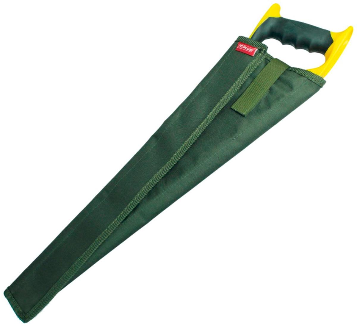 Чехол для ножовки Tplus, кордура 900, цвет: темно-зеленый, 40 см
