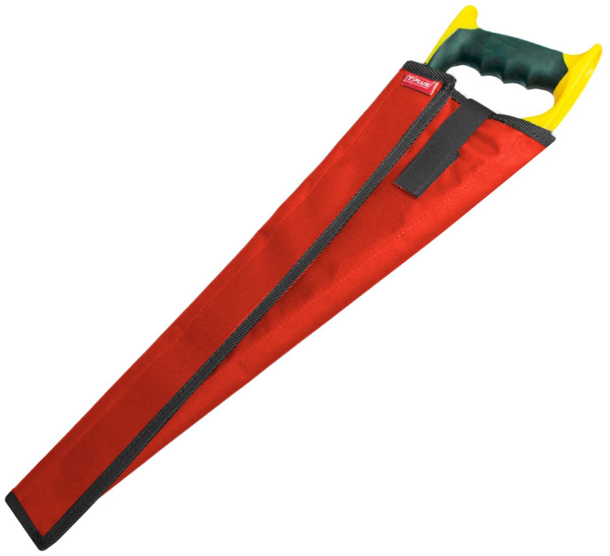 Чехол для ножовки Tplus, оксфорд 600, цвет: красный, 55 см