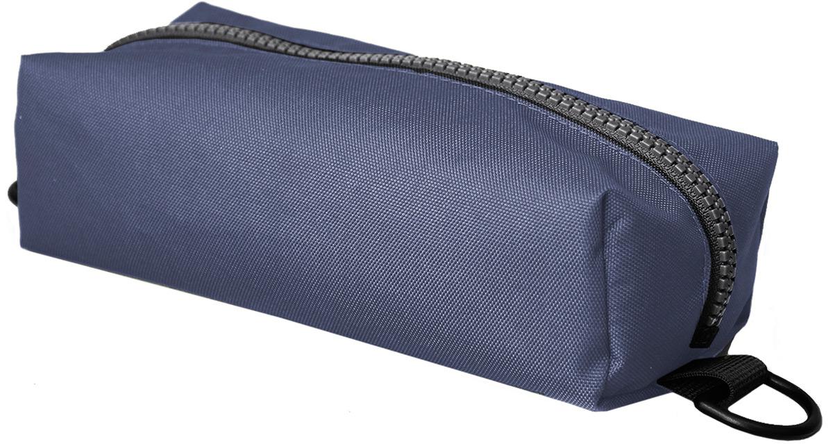 Пенал тактический Tplus, оксфорд 600, цвет: синий, 20 x 10 x 4 см