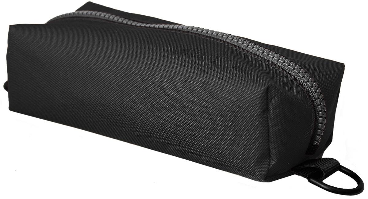 Пенал тактический Tplus, оксфорд 600, цвет: черный, 20 x 10 x 4 см сумка рыбака tplus 600 цвет олива 36 x 20 x 20 см
