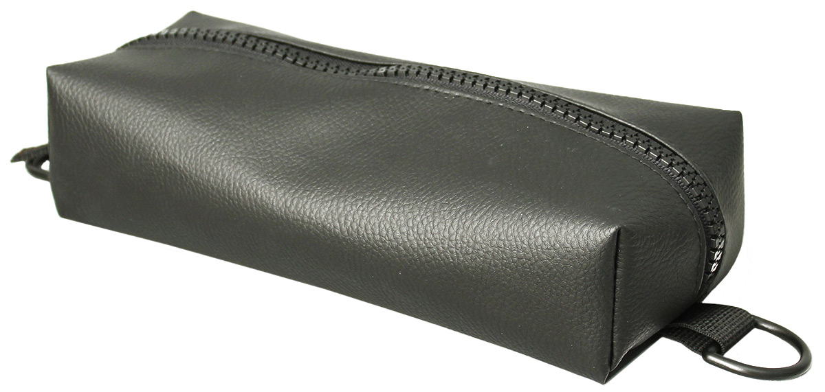 Пенал тактический Tplus, винил, цвет: черный, 23 x 10 x 5 см
