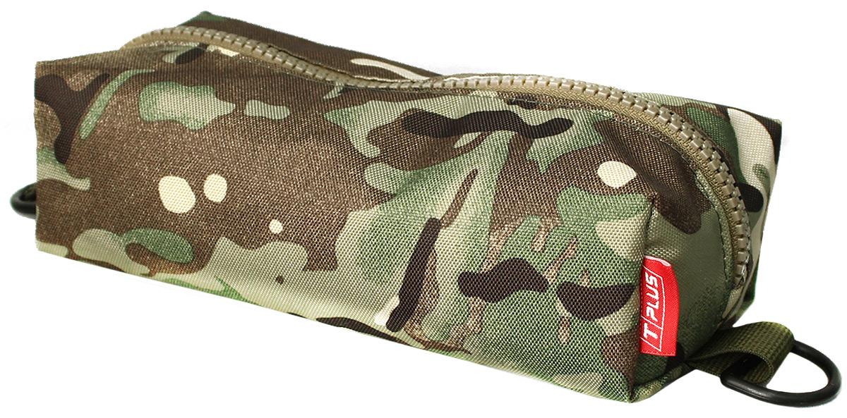 Пенал тактический Tplus, оксфорд 600, цвет: multicam, 23 x 10 x 5 смT014784Пенал тактический специально создан для хранения важных мелочей, которые всегда должны быть под рукой. Пенал закрывается на молнию. С двух сторон на нем предусмотрены полукольца,на которые можно зацепить карабин и прикрепить к рюкзаку или сумке