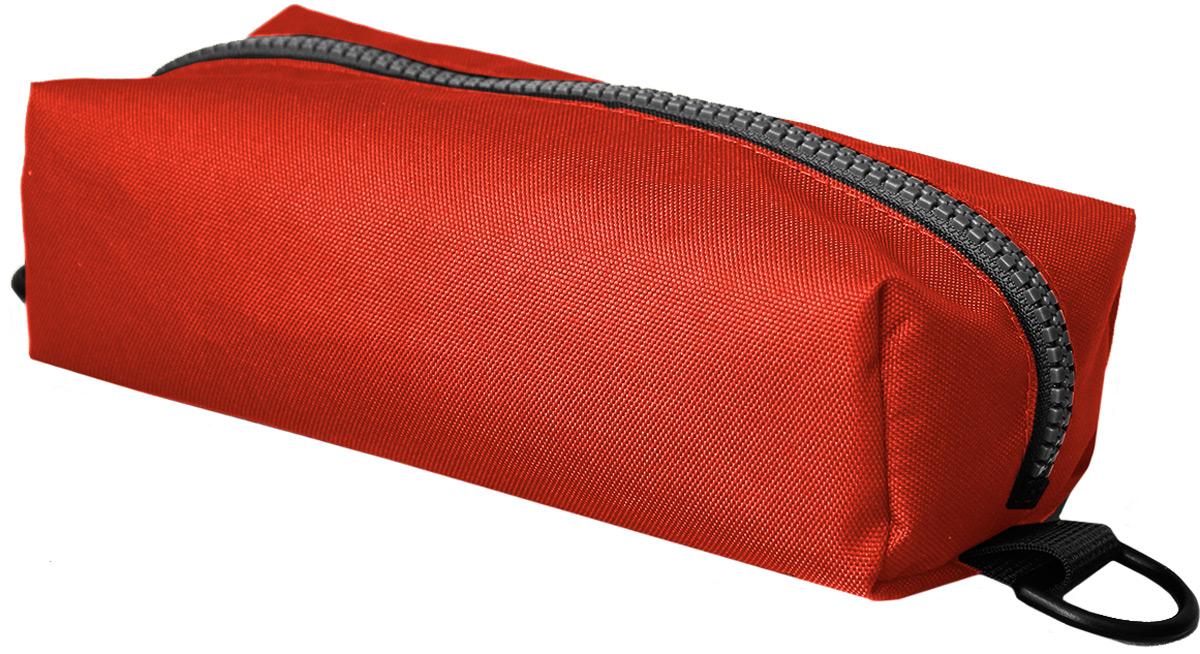Пенал тактический Tplus, оксфорд 600, цвет: красный, 23 x 10 x 5 смT014785Пенал тактический специально создан для хранения важных мелочей, которые всегда должны быть под рукой. Пенал закрывается на молнию. С двух сторон на нем предусмотрены полукольца,на которые можно зацепить карабин и прикрепить к рюкзаку или сумке
