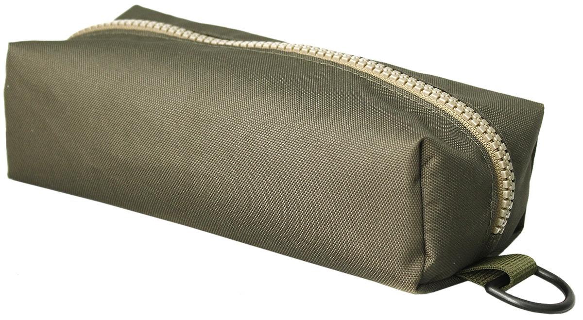Пенал тактический Tplus, оксфорд 600, цвет: оливковый, 23 x 10 x 5 смT014787Пенал тактический специально создан для хранения важных мелочей, которые всегда должны быть под рукой. Пенал закрывается на молнию. С двух сторон на нем предусмотрены полукольца,на которые можно зацепить карабин и прикрепить к рюкзаку или сумке