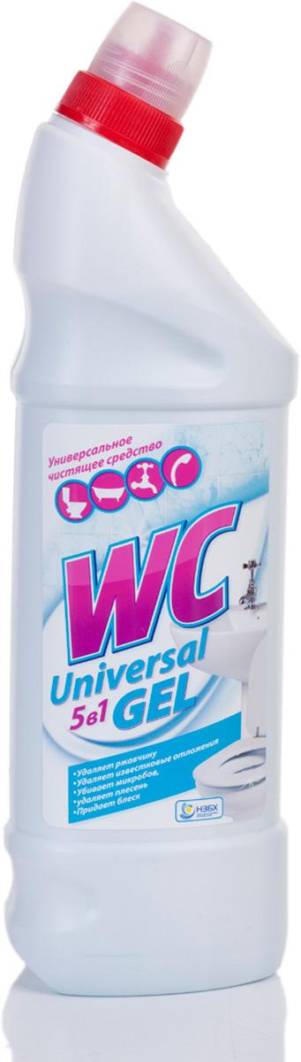 WC Universal 5 в 1 9 щавелева кислота). Удаляет ржавчину.  Удаляет известковые отложения. Удаляет плесень. Придает блеск. Подходит для ванны и туалета.