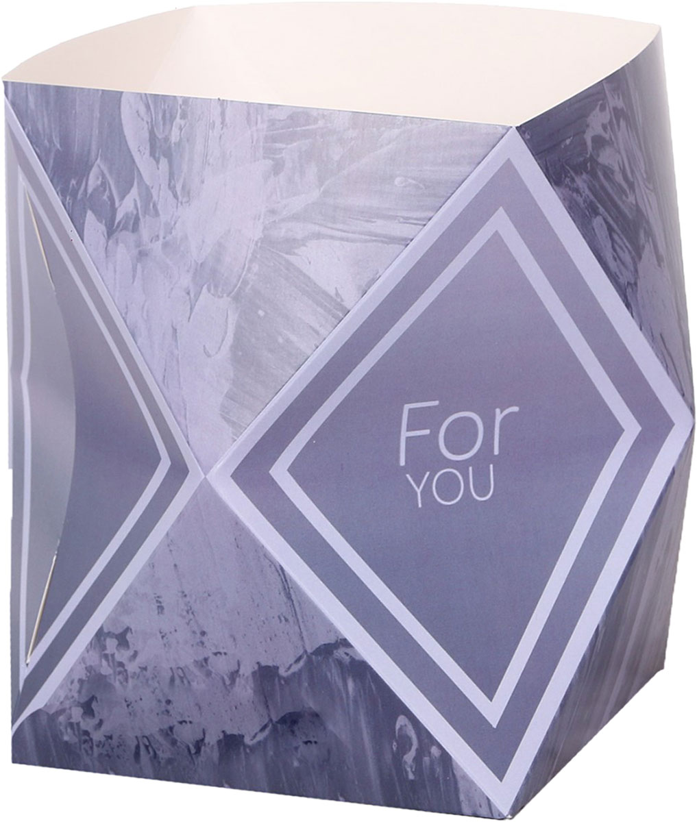 Коробка-ваза Дарите Счастье Лаконичный серый, 59 х 28 см3243933Любой подарок начинается с упаковки. Что может быть трогательнее и волшебнее, чем ритуал разворачивания полученного презента. И именно оригинальная, со вкусом выбранная упаковка выделит ваш подарок из массы других. Она продемонстрирует самые тёплые чувства к виновнику торжества и создаст сказочную атмосферу праздника. Коробка-ваза — это то, что вы искали.