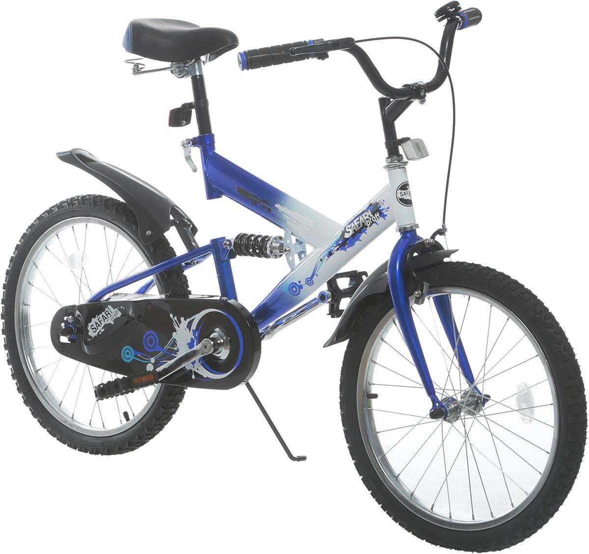 Велосипед детский Safari Proff. Стихии, двухколесный, колесо 201113007Каждый ребенок по различным возрастным рамкам имеет свои пожелания. Что касается подростков, то зачастую их заветной мечтой является велосипед. Одной из прекраснейших универсальных моделей является велосипед 20 Safari proff Стихии двухколесный, выполненный из достаточно прочного материала, имеющий широкую стальную раму.