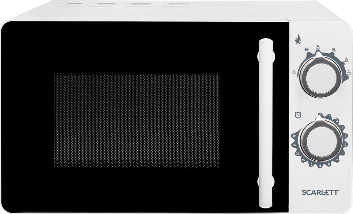 Scarlett SC-MW9020S05M, White микроволновая печь