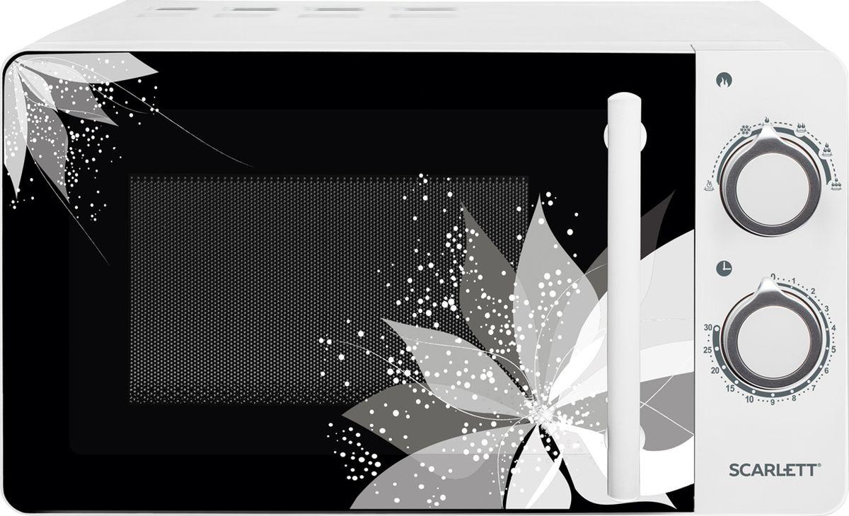 Scarlett SC-MW9020S06M, White микроволновая печь