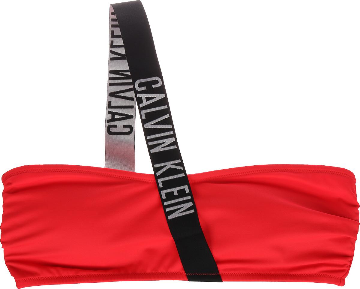 Лиф купальный женский Calvin Klein Underwear, цвет: красный. KW0KW00318_044. Размер M ()