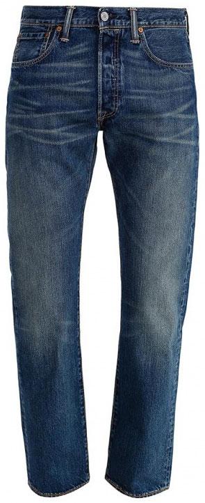 Джинсы мужские Levi's® 501 Original, цвет: синий. 0050113070. Размер 34-34 (50-34)