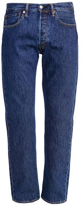 Джинсы мужские Levi's® 501, цвет: синий. 50101140. Размер 33-34 (50-34)