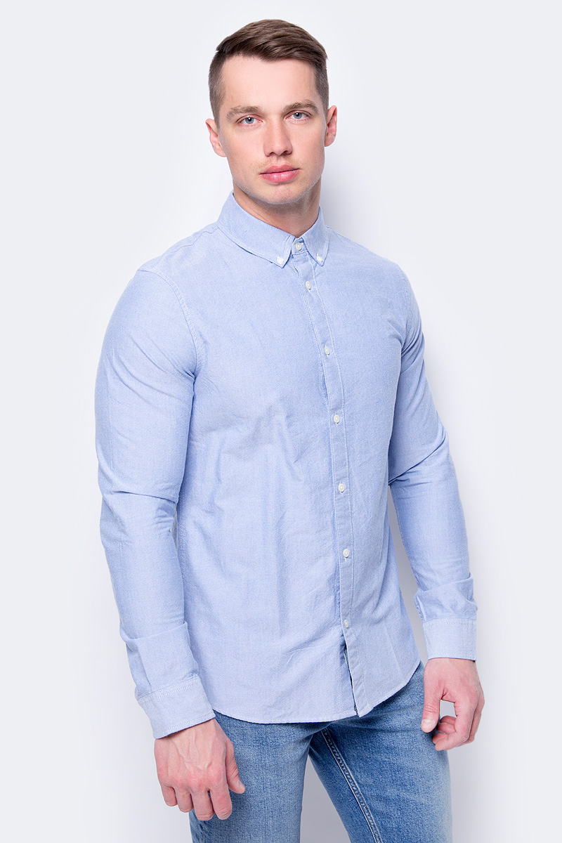 Рубашка мужская Calvin Klein Jeans, цвет: голубой. J30J307018_4990. Размер XL (50/52) jesse stay google marketing for dummies