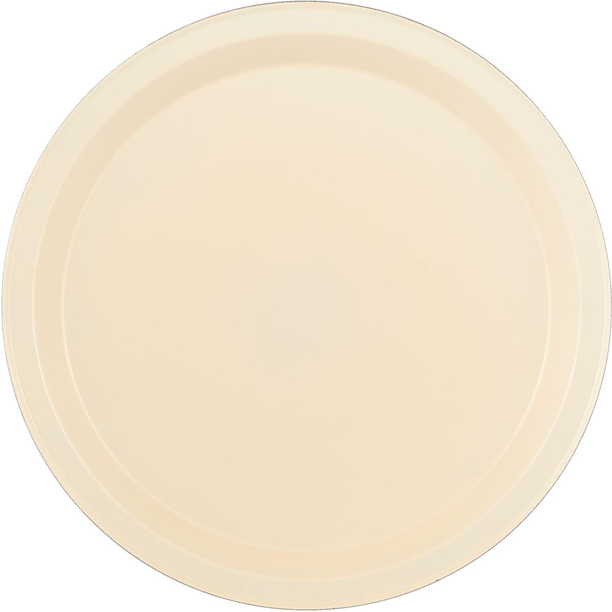 """Форма для пиццы Доляна """"Флери. Пицца"""", с керамическим покрытием, цвет: красный, бежевый, 26 х 1 см"""