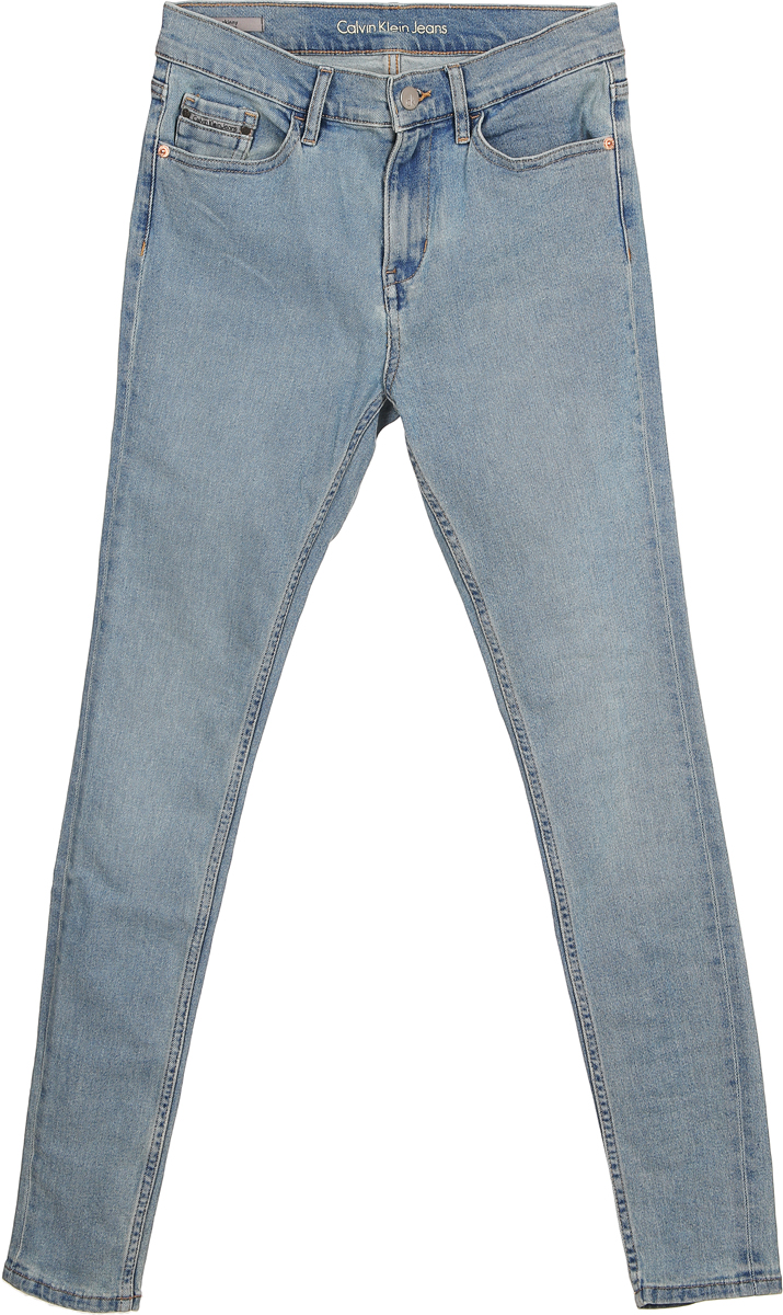 Джинсы женские Calvin Klein Jeans, цвет: синий. J20J206685_9112. Размер 30-32 (46/48-32) 30degrees russia winter baby outerwear children clothing set boy girl ski outdoor sport suit kids down jacket coat trousers fur