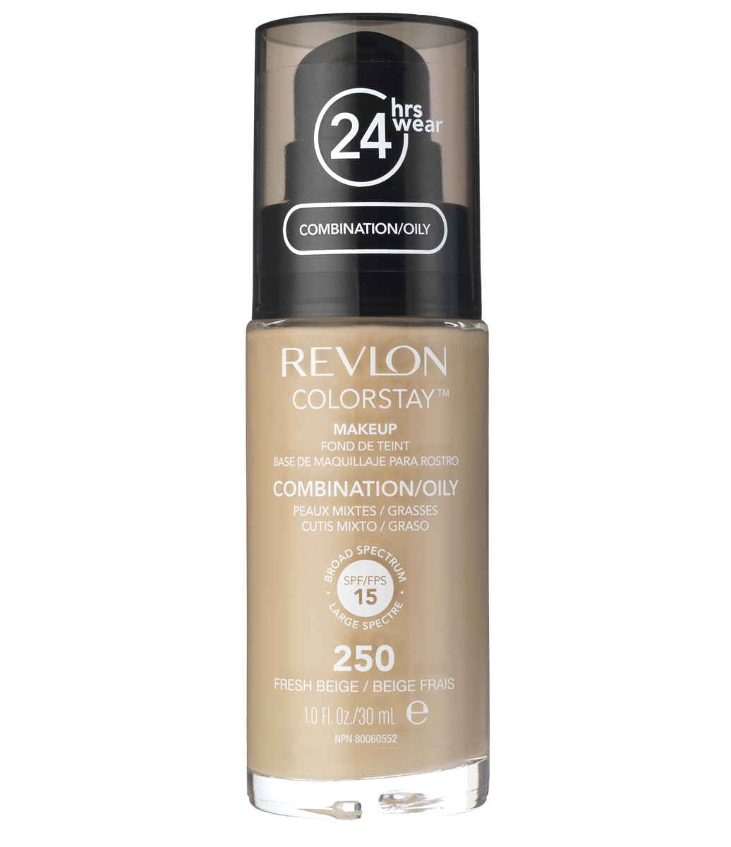 Revlon Тональный Крем для Комб-Жирн Кожи Colorstay Makeup For Combination-Oily Skin Fresh beige 250 30 мл cleansing gel for oily combination skin 150 ml gel for oily skin skin cleansing anti wrinkle gess