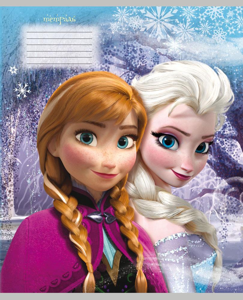 Disney Тетрадь Холодное сердце 12 листов в косую линейку 2333580