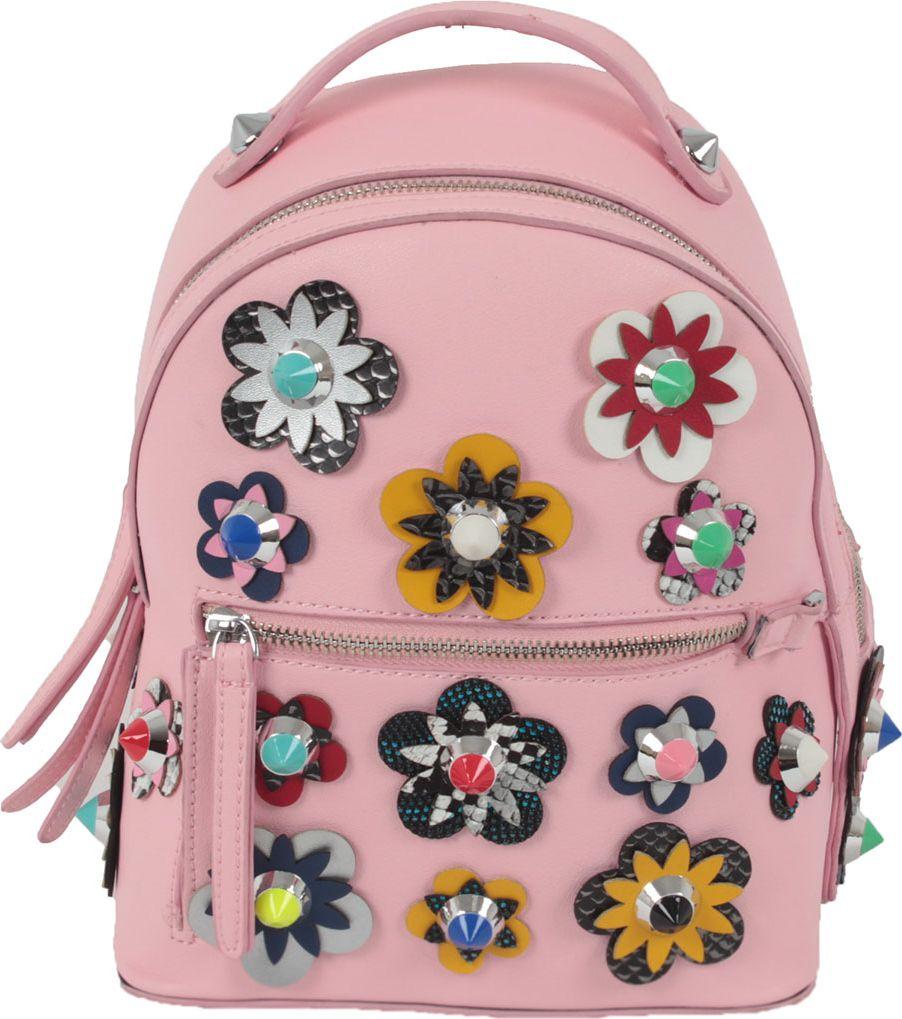 Рюкзак женский Flioraj, цвет: розовый. 8157 pink michael kors коричневые босоножки на танкетке page 1