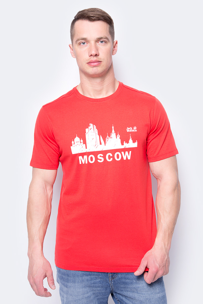 В честь Чемпионата Мира по футболу компания Jack Wolfskin выпустила ограниченную серию футболок из органического хлопка с символикой Москвы.