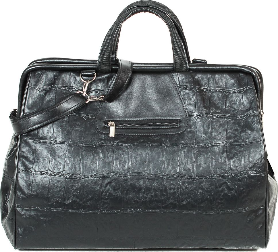 Сумка спортивная женская Leighton, цвет: черный. 4-634-63Закрывается на молнию. Внутри одно отделение, карман для мобильного. Снаружи один карман на молнии. Наплечный ремень.