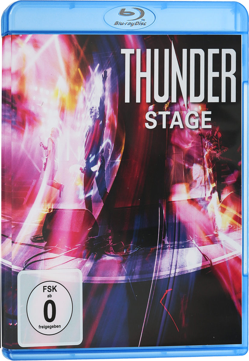 Thunder: Stage (Blu-ray) rush beyond the lighted stage blu ray