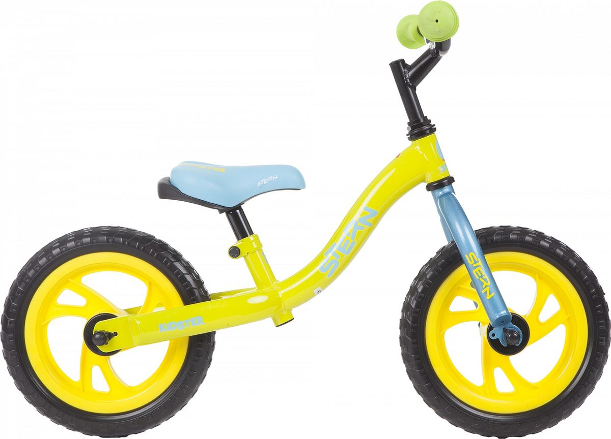 Беговел Stern Kidster Alt, цвет: зеленый, синий, колесо 12 stern вынос руля stern