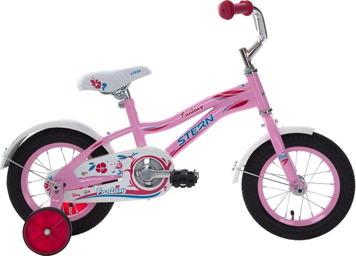 Велосипед детский Stern Fantasy, цвет: розовый, колесо 12 велосипед stern fantasy 20 2017