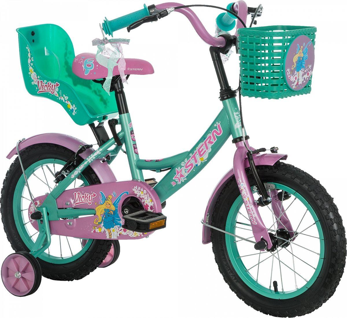 Улучшенная модель детского велосипеда. Набор красивых и функциональных аксессуаров не оставит юных велосипедистов равнодушными. Модель рассчитана на возраст 3-5 лет и рост 99-115 см. На велосипеде установлен комплект тормозов типа V-brake, ограничитель поворота руля, защита цепи и светоотражатели. Комплектация включает функциональную трансмиссию: педали можно прокрутить назад и нажать на них в любом положении. В комплект входят переднее и заднее крылья, а также съемные боковые колеса для обучения езде.В модели предусмотрена надежная стальная рама Hi-TEN STEEL.