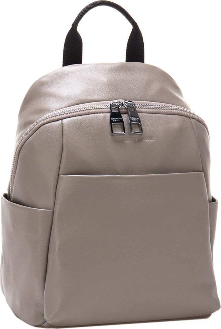 Рюкзак женский Alessandro Birutti, цвет: серый. 13-316А сумка женская alessandro birutti цвет темно синий 4013