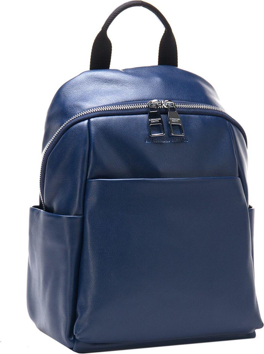 Рюкзак женский Alessandro Birutti, цвет: темно-синий. 13-316А сумка женская alessandro birutti цвет темно синий 4013