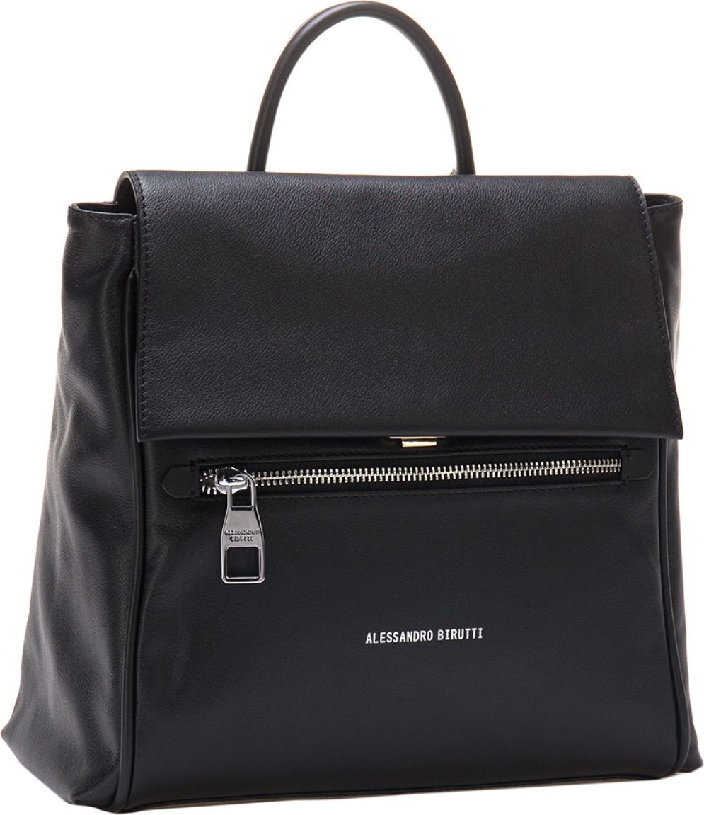 Рюкзак женский Alessandro Birutti, цвет: черный. 13-281 сумка женская alessandro birutti цвет темно синий 4013