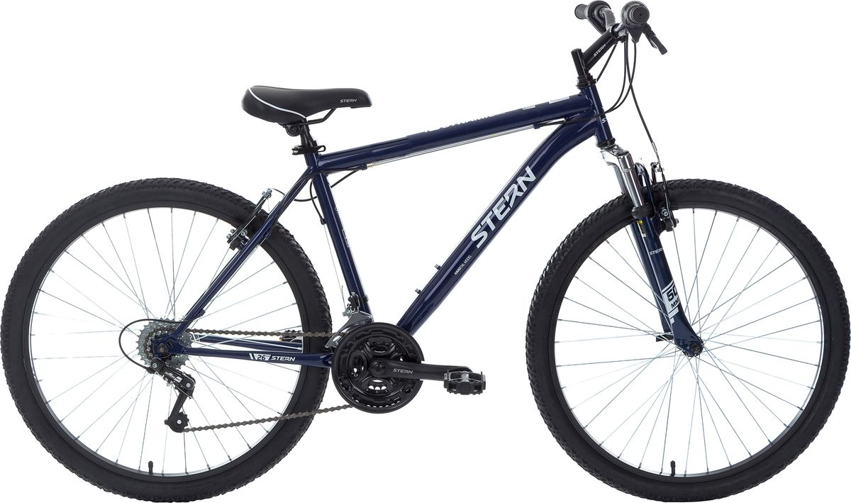 Велосипед горный Stern Dynamic 1.0, цвет: синий, рама 14, колесо 26